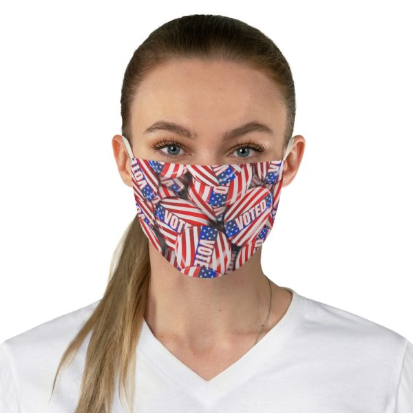 Voted Button Face Mask